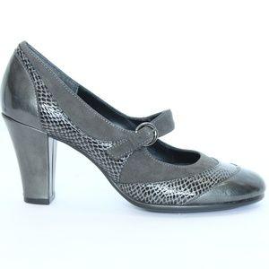 Aerosoles Mary Jane Shoes Women Heel sz 7 Comfort